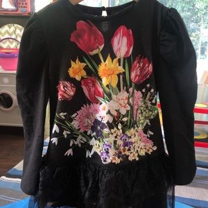 Love made love sweatshirt dress